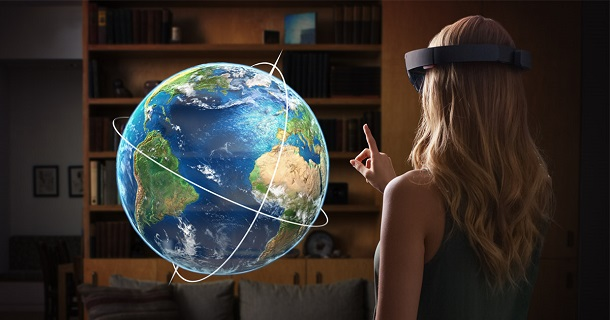 Some Business Ideas with HoloLens – (16) Holo-Map