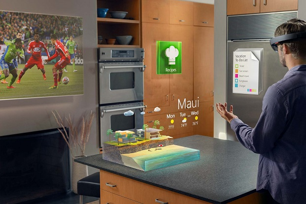 Some Business Ideas with HoloLens – (9) Holo-Hotel Reservation