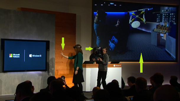 How Was the HoloLens Demo Live Video Created?