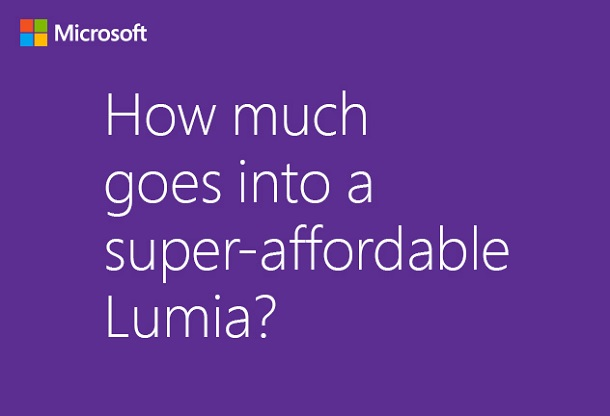 Super-affordable Lumia Is a Good Play for Microsoft