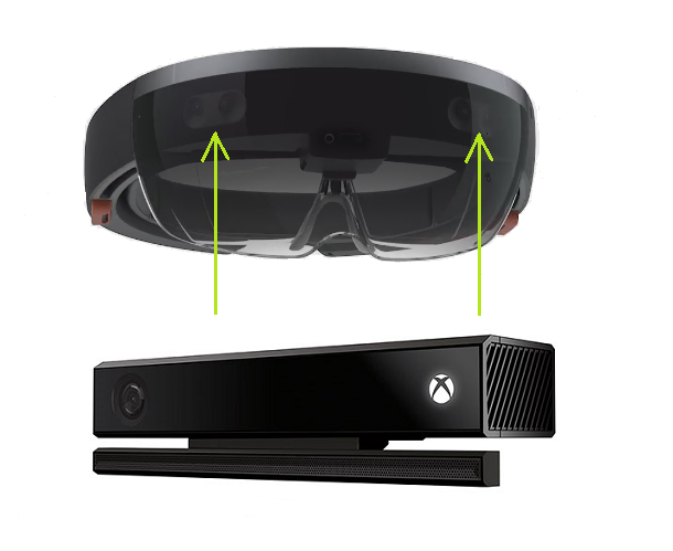 Why HoloLens Is Not Kinect