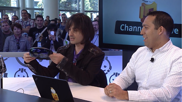 Alex Kipman Channel 9 Interview @ //BUILD/2015 – Must See
