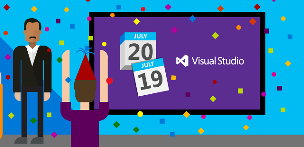 Visual Studio 2015 to Release on July 20th