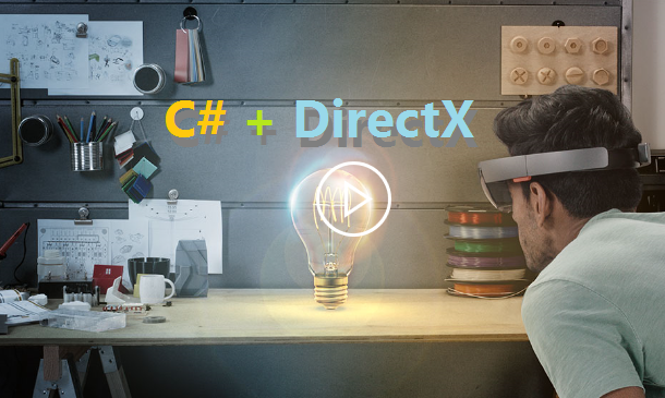 HoloLens Programming in C# and DirectX, without Unity